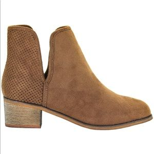 Seven7 - Vegan Leather Ankle Boots